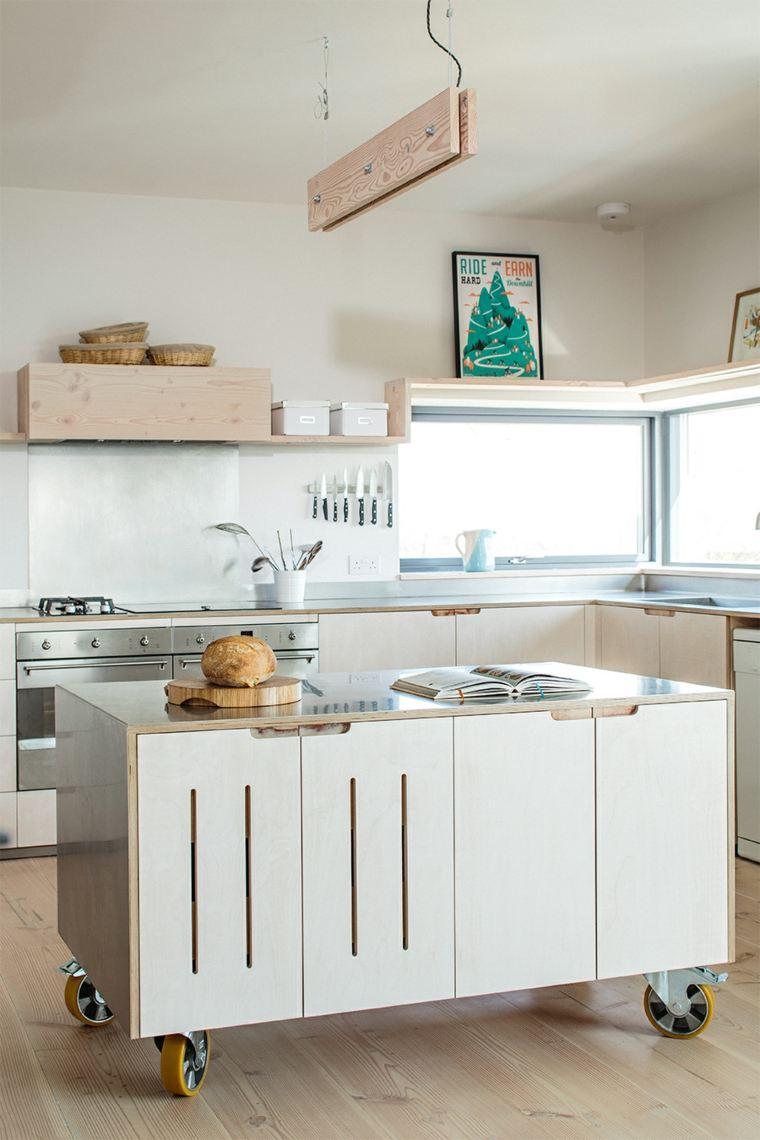 cocinas-pequenas-con-isla-ruedas-color-blanco-diseno