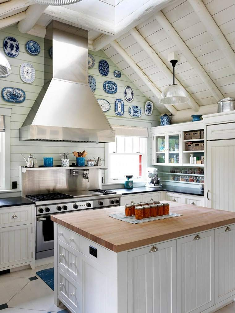Cocinas rústicas - 30+ fotos originales para crear un espacio natural -