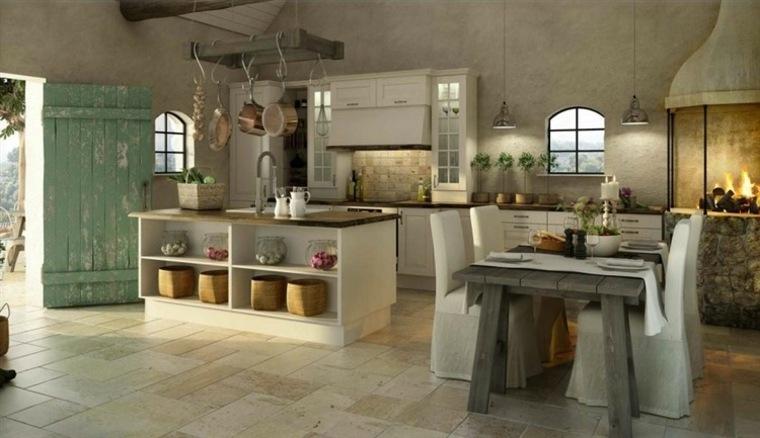 cocinas-rusticas-fotos-ideas-interiores-amplios