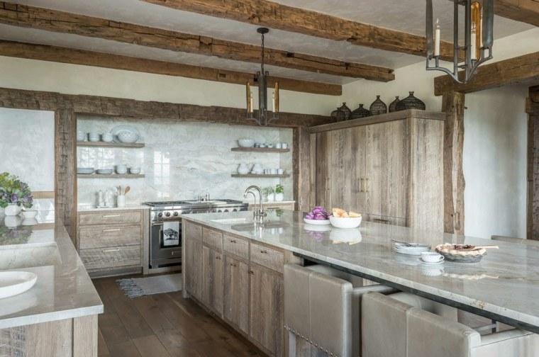 cocinas-rusticas-fotos-muebles-madera-originales