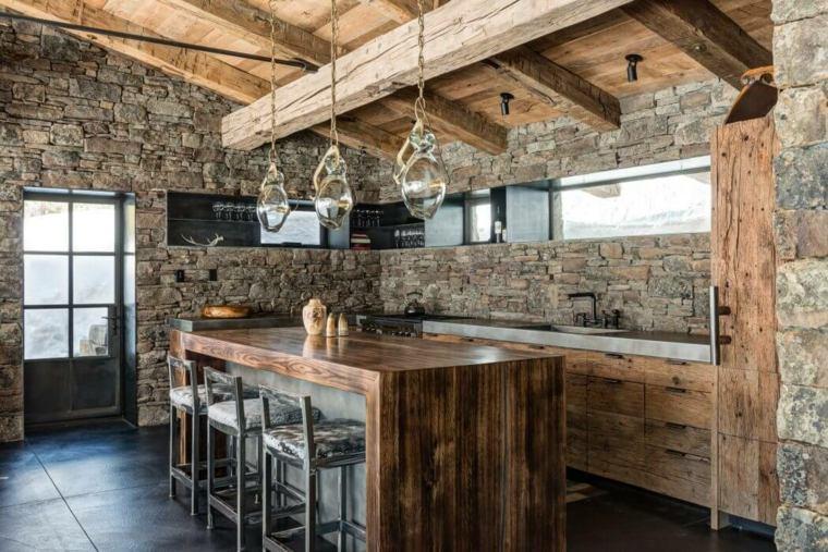 Cocinas rústicas - 30+ fotos originales para crear un ...