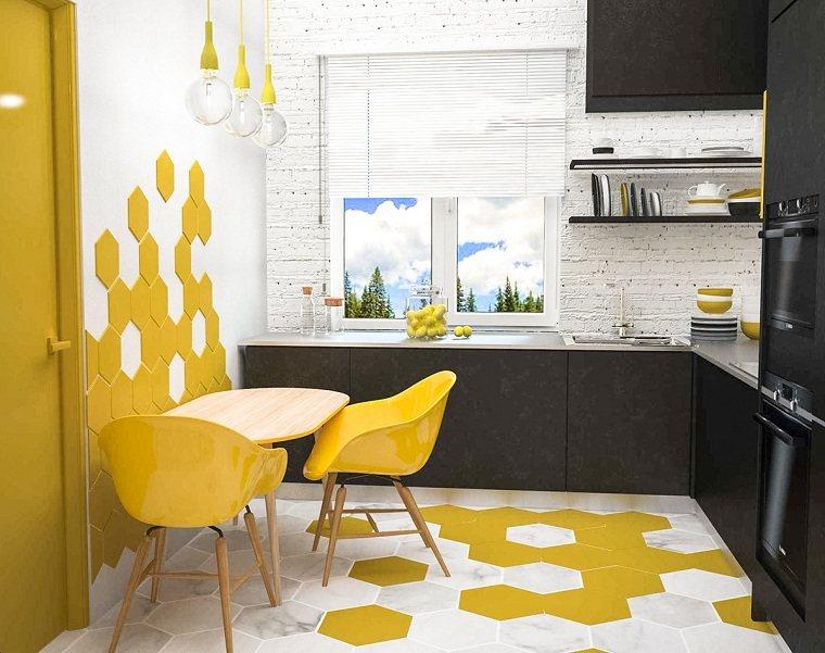 color-amarillo-cocina-diseno-espacios-pequenos-estilo