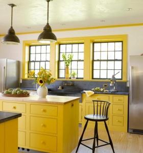 color-amarillo-cocina-diseno-muebles-bellos