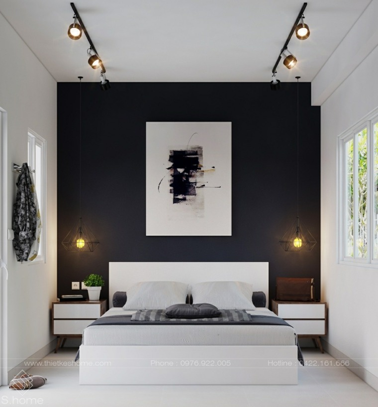 Modern Bedroom Black Gothic Bedroom Sets Room Colour Ideas Bedroom Bedroom Furniture For Men: Colores Para Paredes De Acento