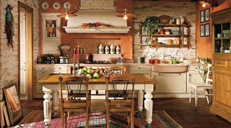 comedor-cocina-pared-piedra-estilo-moderno