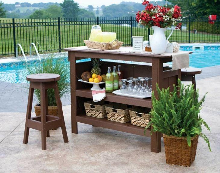 concepto sencillo patios modernos