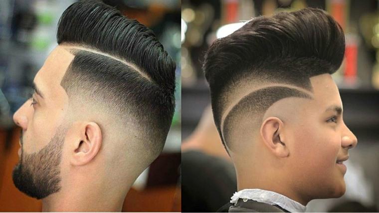 tendencias en cortes de cabello para chico