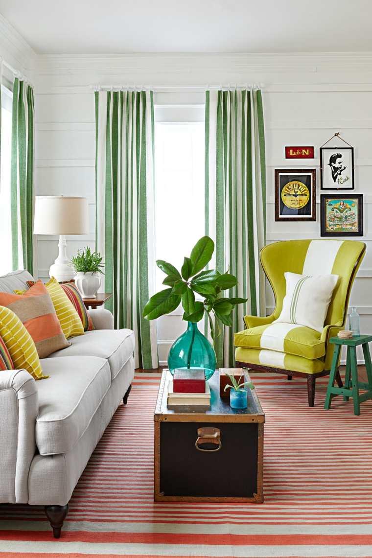 Salones pequeños muebles diseño y decoración para crear un espacio ...