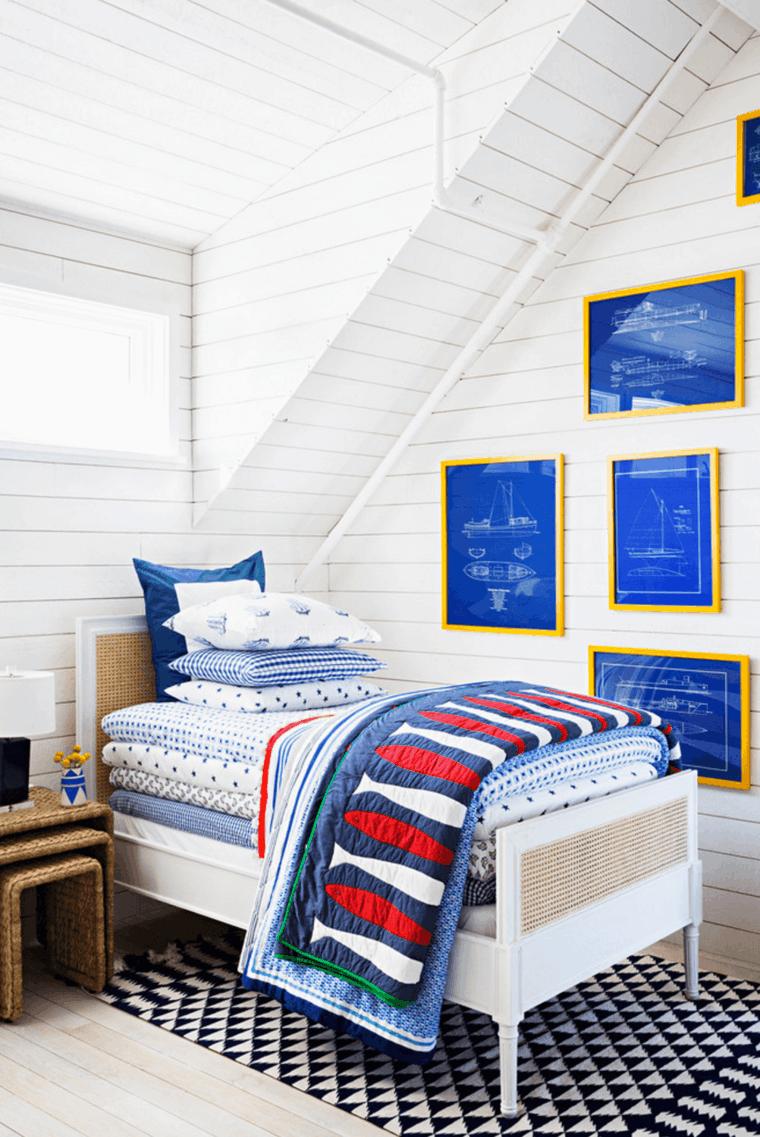 trucos para decorar paredes de habitaciones infantiles