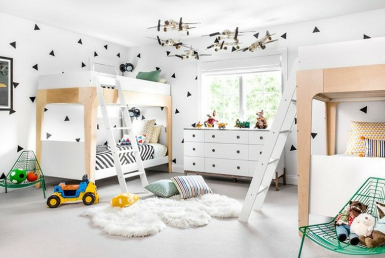 Habitaciones Compartidas Infantiles Para 3 4 O Más Niños