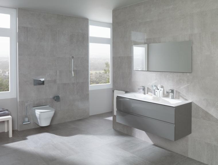 estupendos diseños de cuartos de baño modernos de Porcelanosa