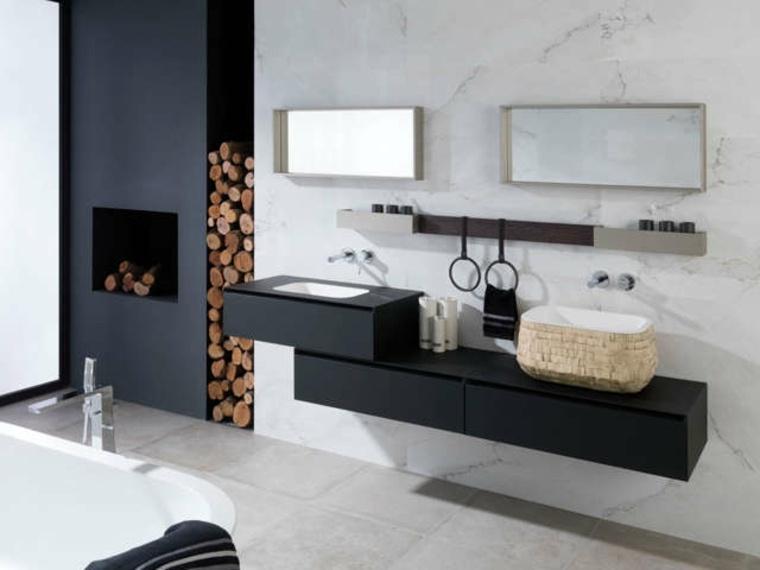 estupendos diseños de cuartos de baño de Porcelanosa