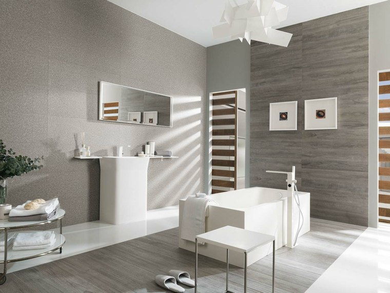 originales diseños de cuartos de baño de Porcelanosa