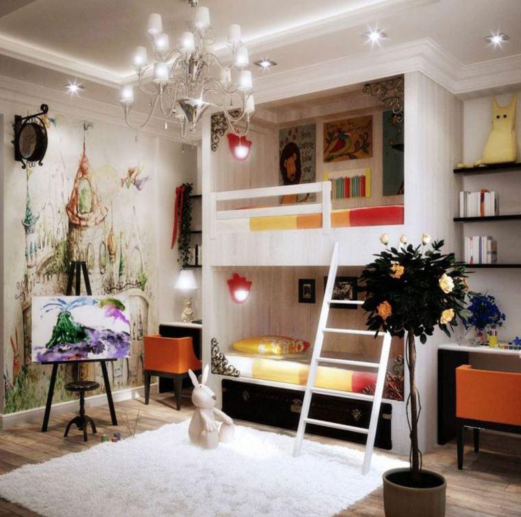 consejos para decorar paredes de habitaciones infantiles