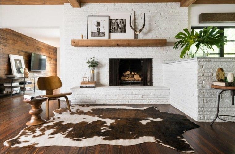 decoracion-de-salones-modernos-alfombra-original