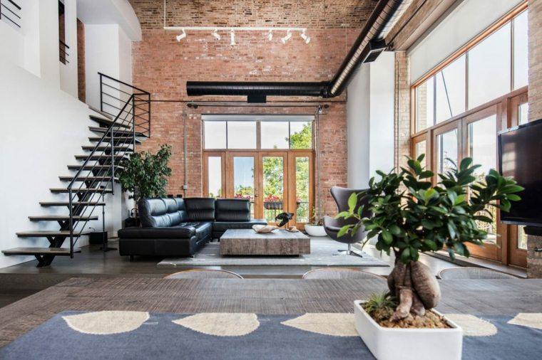 decoracion-de-salones-modernos-opciones-loft