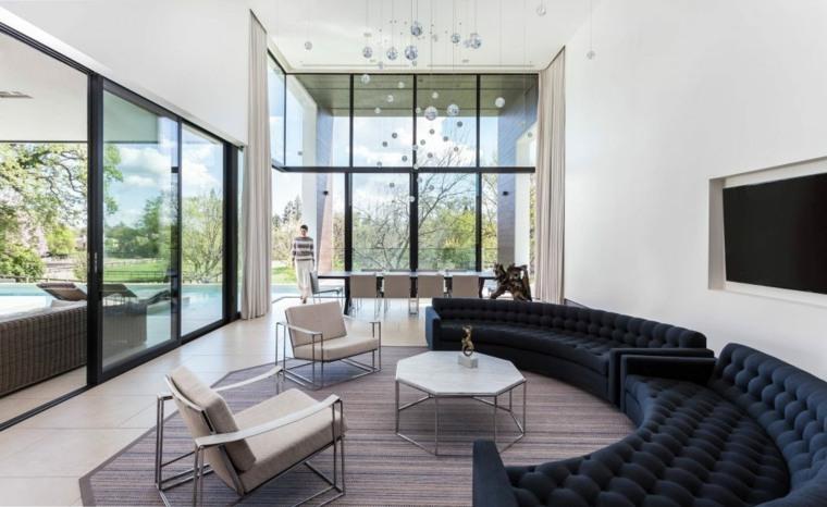 decoracion-de-salones-modernos-opciones-sofa-forma-ovalada