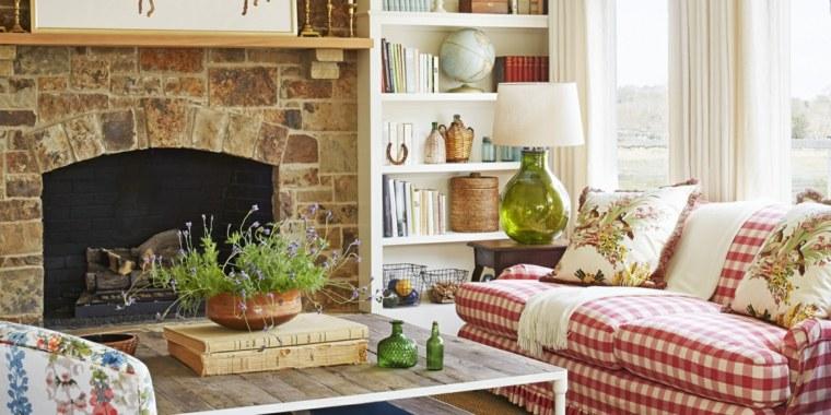 decoración de salones rústicos-ideas-inspiracion-hogar