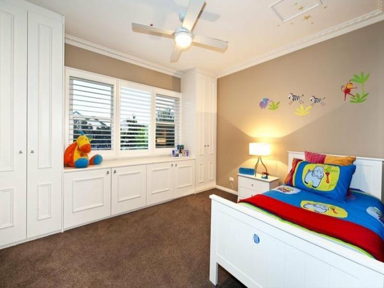 diseños de dormitorios infantiles modernos