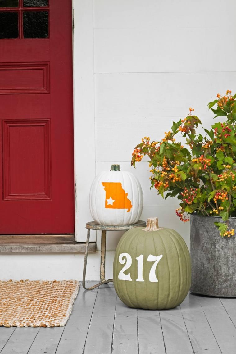 Casas decoradas para el otoño – Ideas originales para el exterior