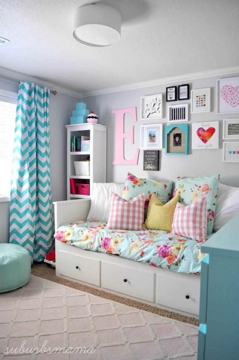 diseños de habitaciones infantiles niña