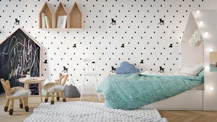 ideas para decorar las paredes de habitaciones