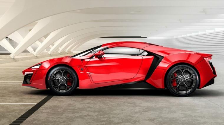 diseño coches diferentes lujo