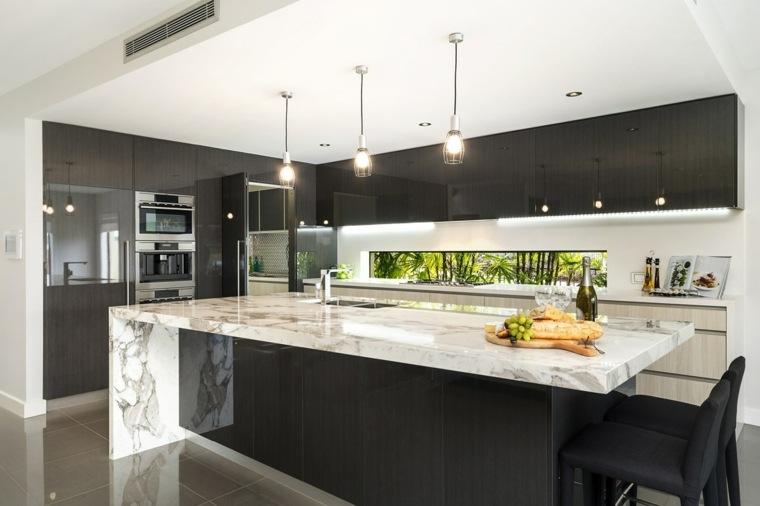 diseno-cocina-encimeras-arabescato-marmol