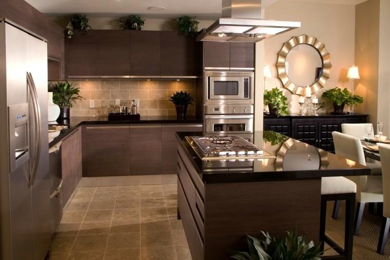 decoración interiores diseno-cocina-estilo-original-opciones