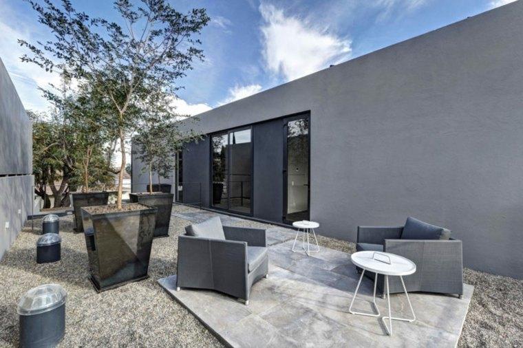 diseño de jardines-estilo-contemporaneo-gris