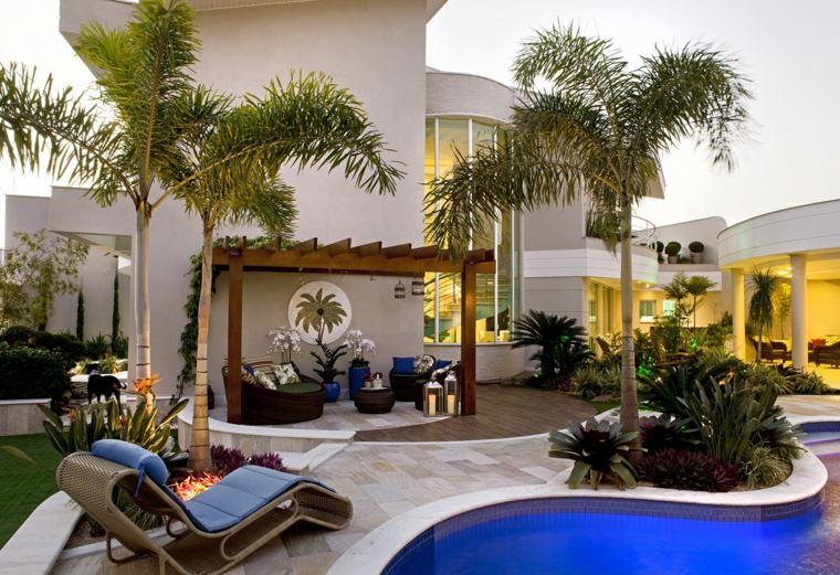 diseño de jardines-estilo-jardin-amplio-opciones
