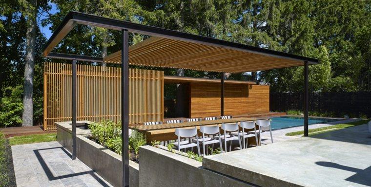 Dise o de jardines ideas inspiradoras en fotos que puede - Diseno de pergolas de madera ...