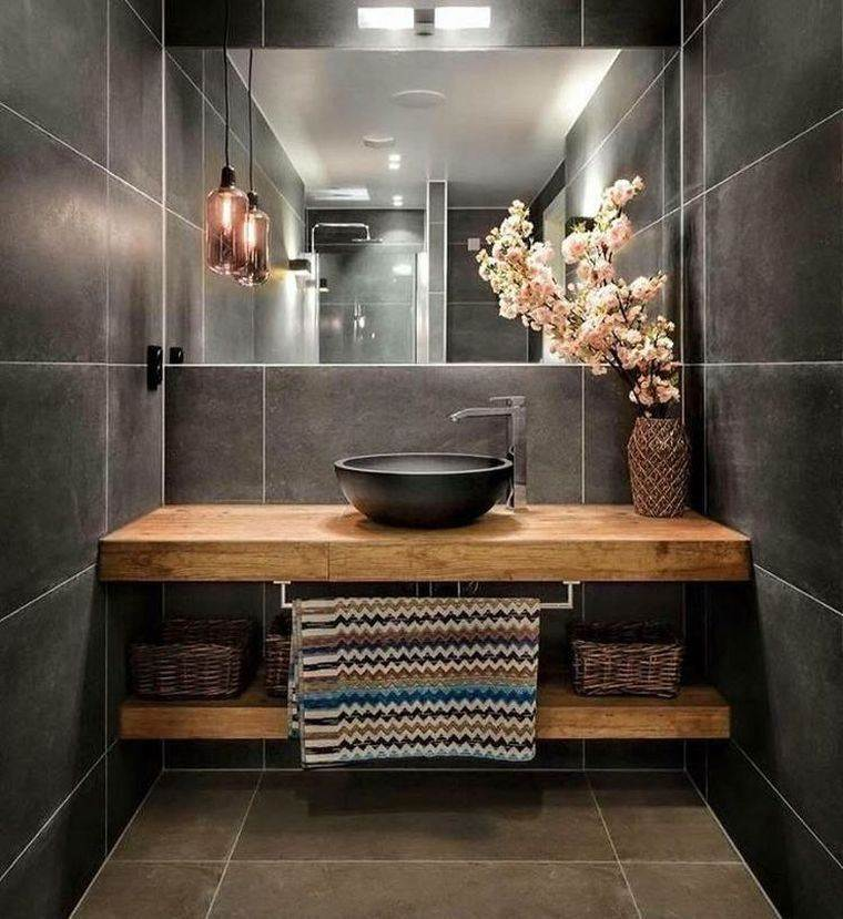 originales imágenes de baños modernos
