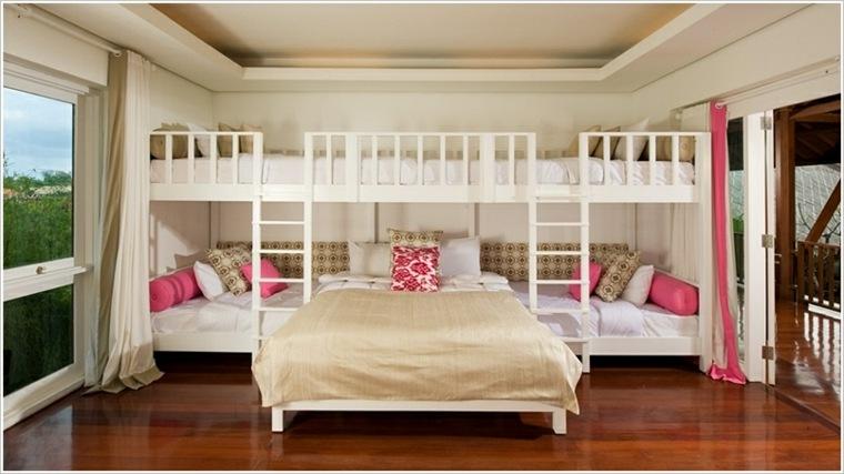 habitaciones compartidas para cuatro
