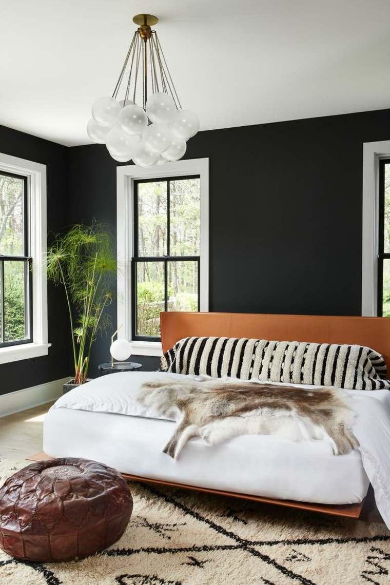 colores oscuros para paredes