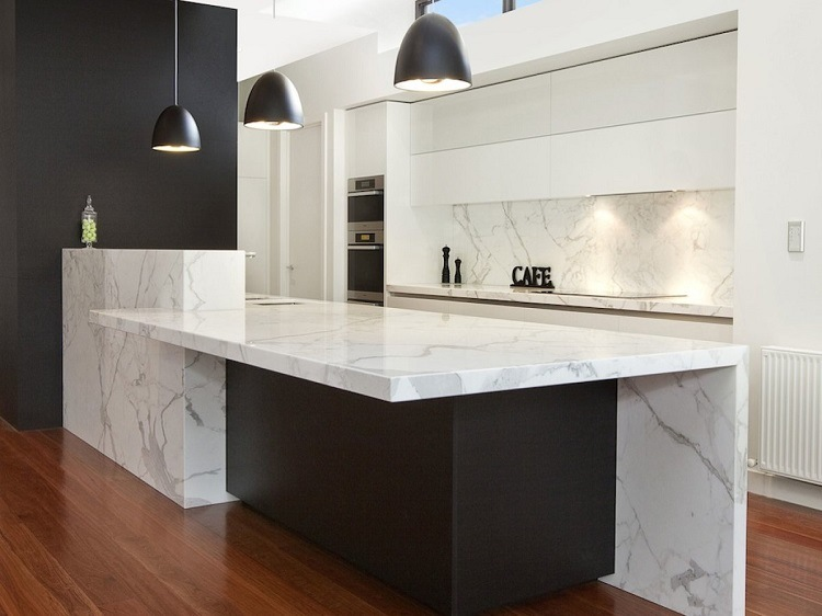 efectos luz natural sobre marmol