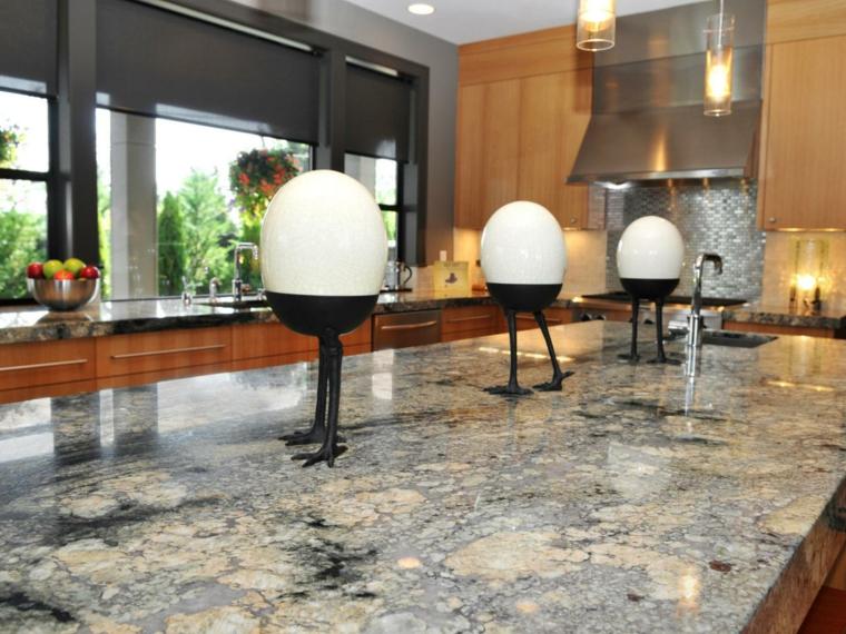 encimera granito contemporánea estilo