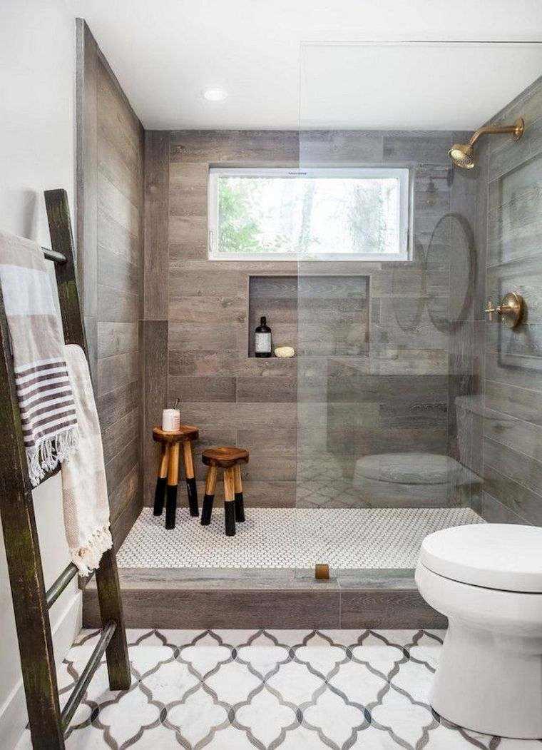 Las mejores fotos de cuartos de ba os encontradas en - Revestimiento banos modernos ...