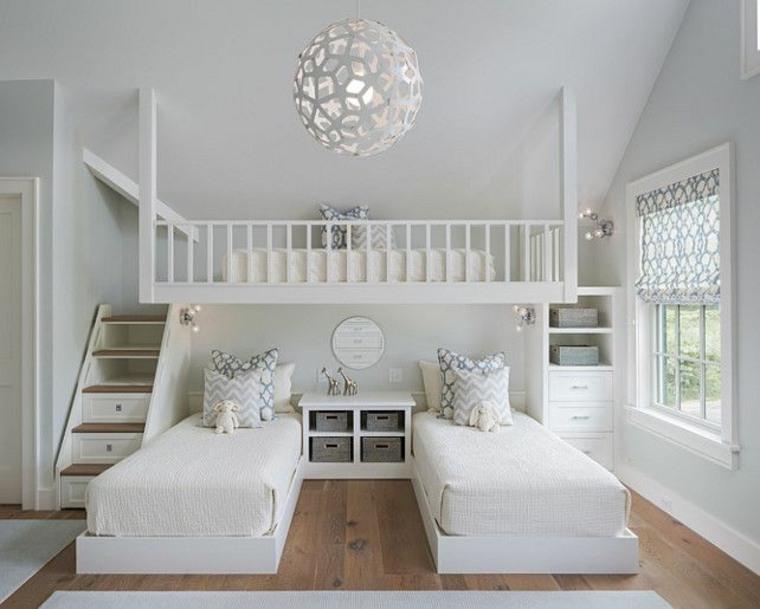 Habitaciones compartidas infantiles para 3 4 o m s ni os - Habitaciones infantiles compartidas ...