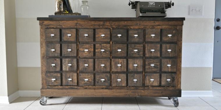 originales ideas para gabinetes de boticario