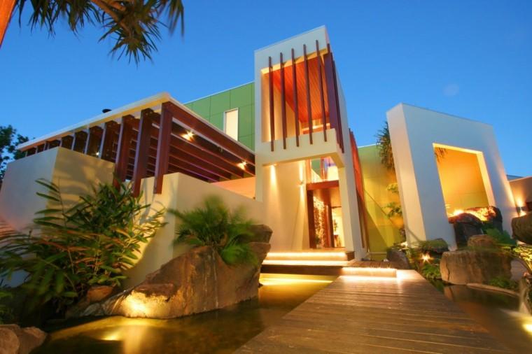 estupendas fachadas de casas modernas