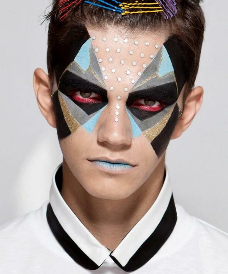 maquillaje de halloween hombre