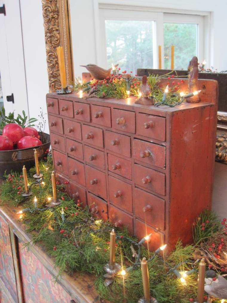 gabinete de boticario decorado