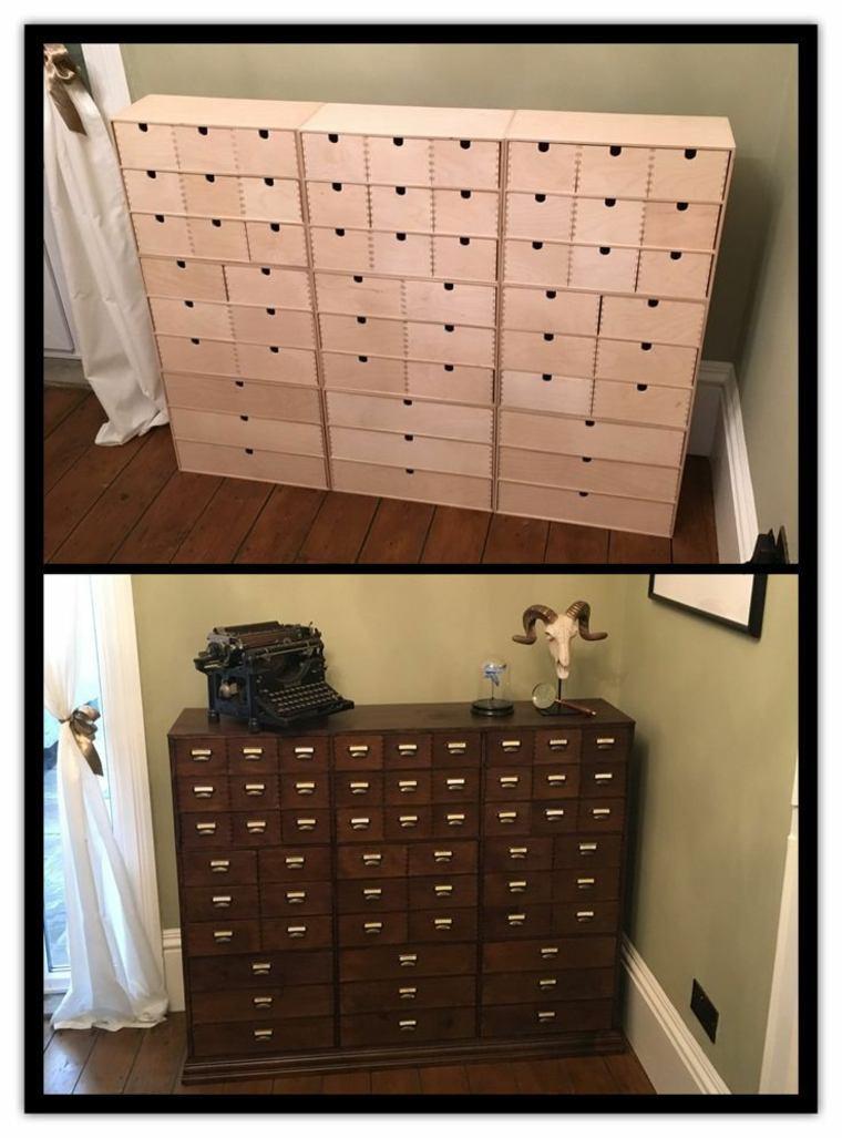 diseños de gabinetes de boticario vintage
