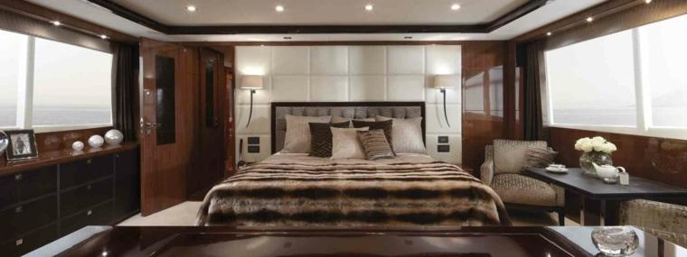 precioso diseño de interior de yate