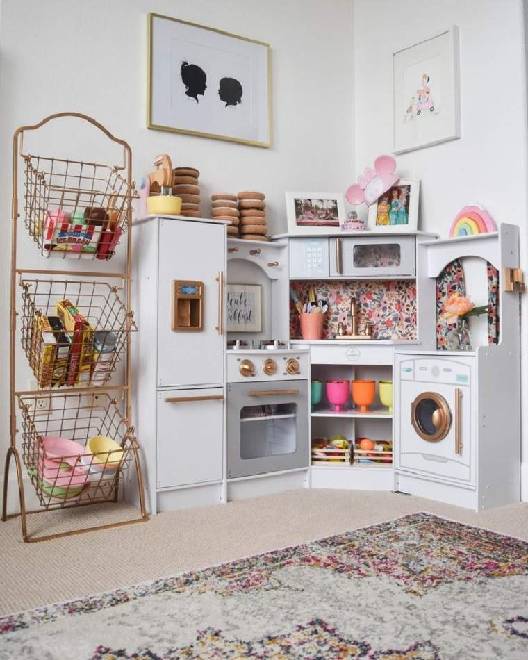 Clever And Creative Ideas For The Ultimate Playroom: Habitaciones Infantiles Para Niña