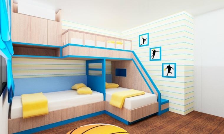 habitaciones compartidas juveniles