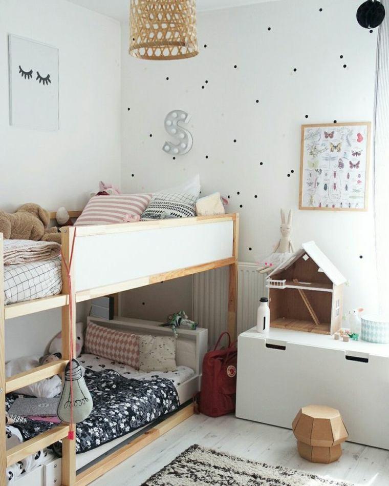 Habitaciones infantiles baratas divertidas y con mucho - Habitaciones pequenas ikea ...