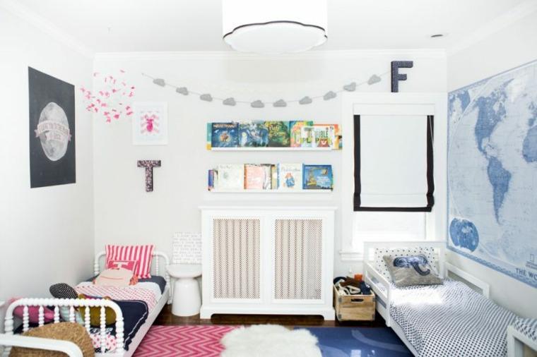 dormitorio infantil doble