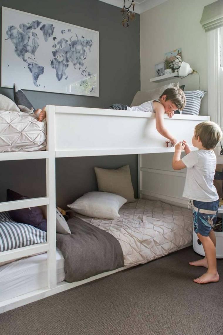 Habitaciones infantiles baratas divertidas y con mucho - Dormitorio infantil literas ...